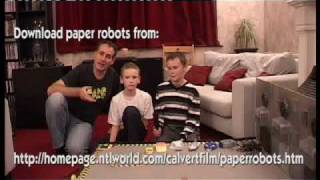 Robot Mini Wars Part 10 (of 10) The Making Of The Series