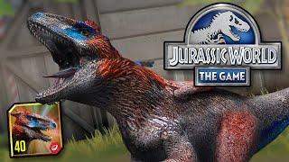 MAXIMIZANDO DEINONYCHUS !!! | Jurassic World - El juego - Ep487 HD