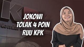 WOW TODAY: Presiden Jokowi Tolak 4 Poin RUU KPK