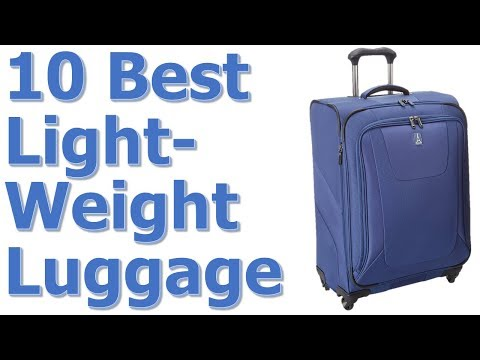 Best Lightweight Luggage Reviews || Best Lightweight Luggage 2017