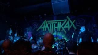 November 4, 2016: Anthrax. St Vitus Brooklyn. 9/17/16 Lone Justice