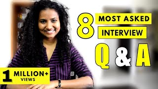 8 Most-Asked Interview Questions & Answers (for Freshers & Experienced Professionals)
