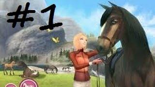Let's play! Alexandra Ledermann 9: la colline aux chevaux sauvages #1
