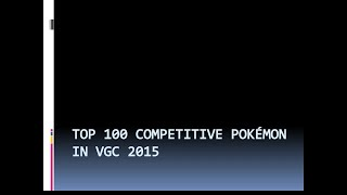 Top 100 Vgc 15 Pokémon Part 2 90 81 (1 58 MB) 320 Kbps