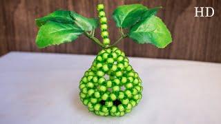 How To Make Beaded Guava - পুতির পেয়ারা | Beaded Fruits | Beads Guava | Beads Fruits | DIY Fruits