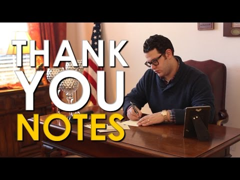 Learn How To Write Unforgettable Thank You Notes With This Primer