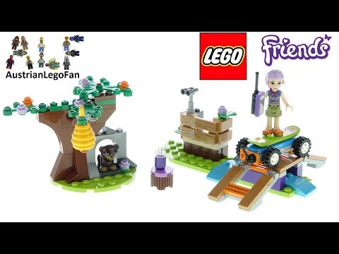 Vidéo LEGO Friends 41363 : L'aventure dans la forêt de Mia