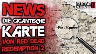 Red Dead Redemption 2 - Karte größer als GTA 5 - Alle Infos - Red Dead Redemption 2 Map Deutsch