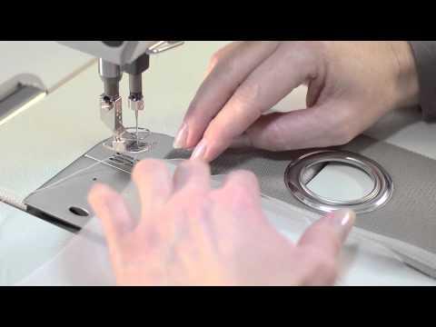 Schulungsvideo Gardinenband - Ösenband