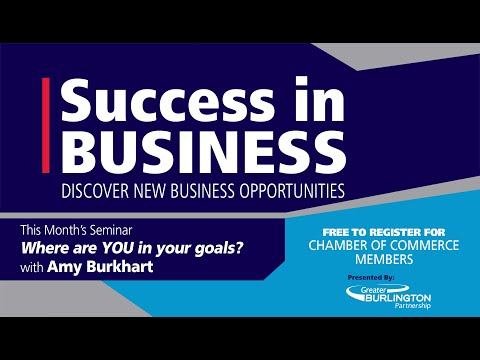 Success in Business - Where Are You in YOUr goals with Amy Burkhart