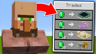 Minecraft, But Villagers Trade Structures...