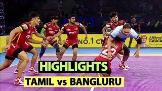Pro Kabaddi 2019 Highlights[Hindi]: Bengaluru Bulls Beat Tamil Thalaivas | Sports Tak