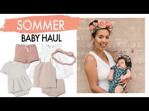 SOMMER BABY KLEIDUNG - H&M, NAME IT, SCHÖNER SCHWANGER