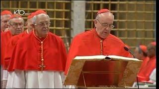 Procession Et Entrée En Conclave