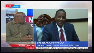 The new IEBC with Mulle Musau and Betty Kyalo 19/1/2017