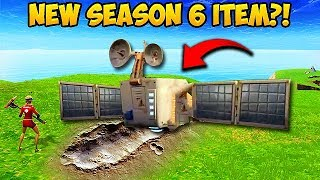 *NEW* SEASON 6 SATELLITE FOUND! - Fortnite Funny Fails and WTF Moments! #311