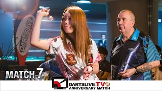 【Phil Taylor VS Sayaka Sasaki】 DARTSLIVE.TV 10th ANNIVERSARY MATCH 7