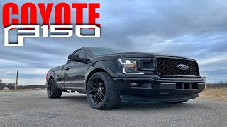 Ford won't build it, so we did! NASTY COYOTE F150!