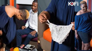 XANDY REMOVES HER PANT LIVE ON KOFI TV