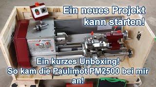 Die Paulimot PM2500 ist angekommen. Hier zeige ich euch in welchem Zustand!