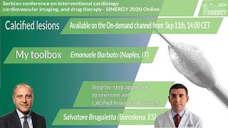SINERGY 2020 – Step by step approach to resistant and calcified lesions and vessels
