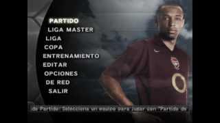 Pro Evolution Soccer 5 - Main Menu (Spiral 2005) Music