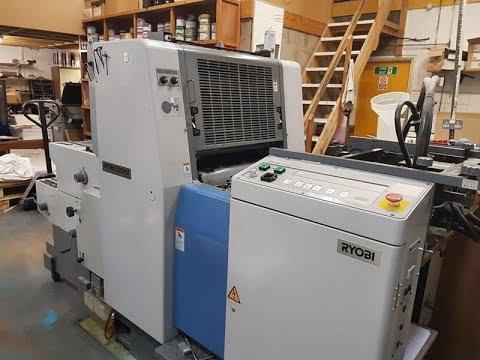 RYOBI 520 HX Offset Printing Machines