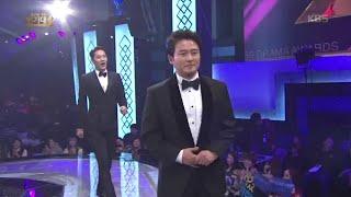 2015 KBS 연기대상 2부 - 2015 KBS 연기대상, 우수 연기상 일일극 남자 수상자! 임호, 곽시양.20151231