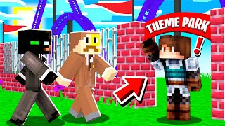 OPENING a THEME PARK in MINECRAFT!