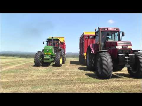 GRASSMEN - Mike and Jimmy race the Magnum and 4755!