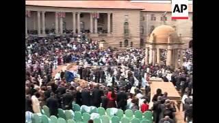 Swearing in of Jacob Zuma as president
