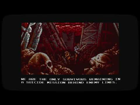 Blazing Chrome Intro Cutscene thumbnail