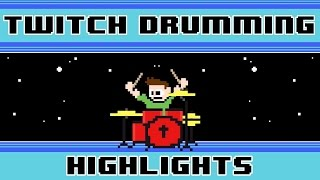 JonTron ft. Katy Perry - Firework (Drum Cover) -- The8BitDrummer