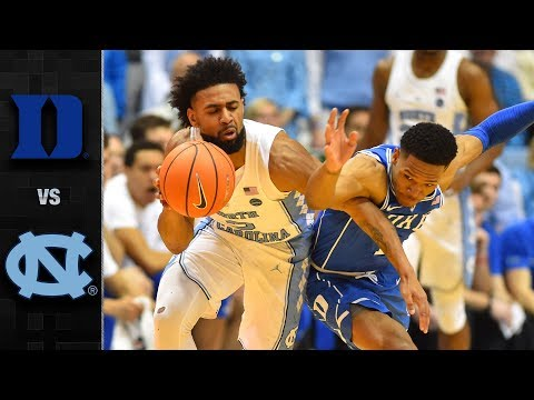 Duke vs. North Carolina Basketball Highlights (2017-18)