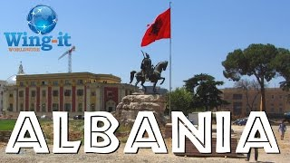 preview picture of video 'Travel Report:  Visiting Tirane, Albania'