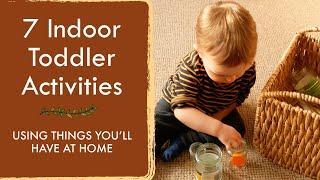 EASY INDOOR TODDLER ACTIVITIES (1) | 7 Easy Ideas For Lockdown