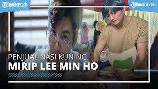 Wajah Mirip Lee Min Ho, Pedagang Nasi Kuning Samarinda yang Viral Ternyata Sering Dibully