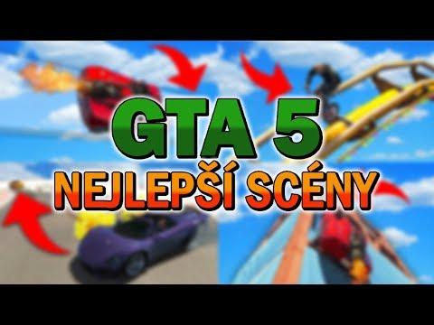 GTA 5 NEJLEPŠÍ SCÉNY!