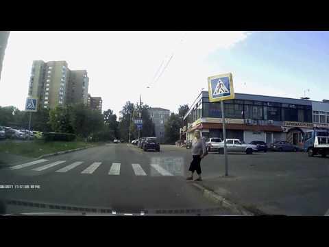 Благодарность от пешехода
