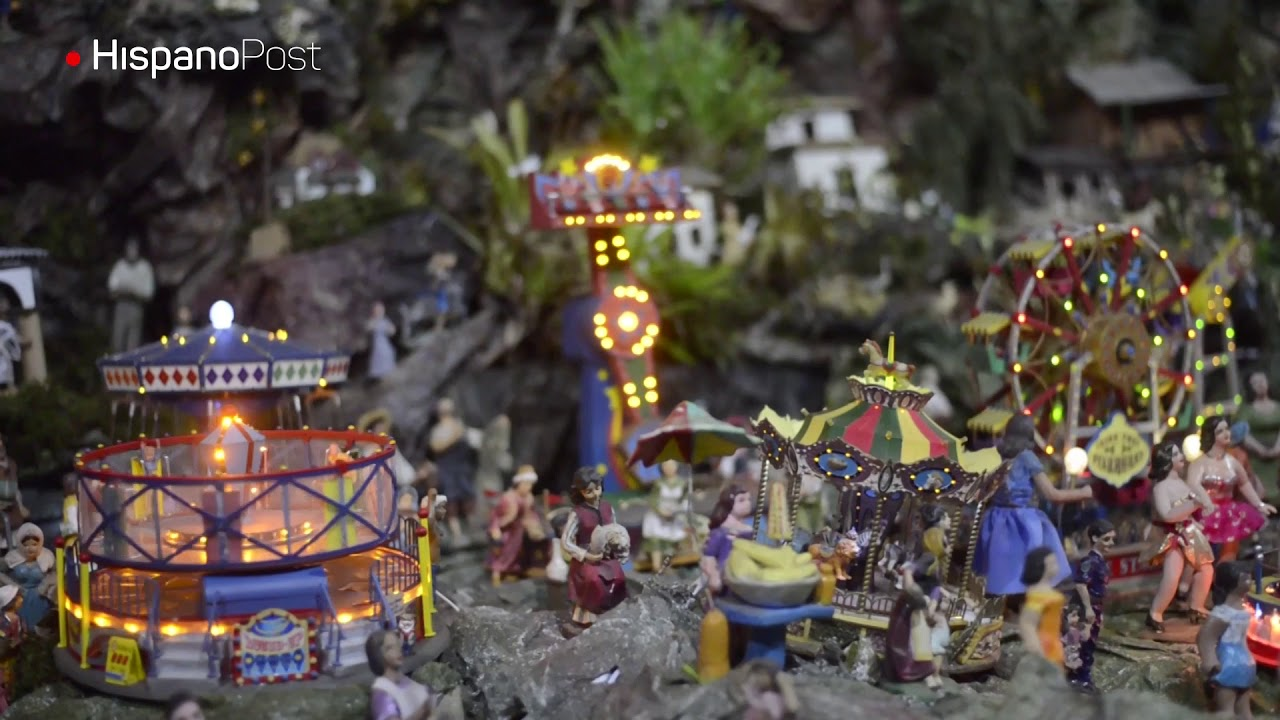 La gigante tradición del nacimiento miniatura