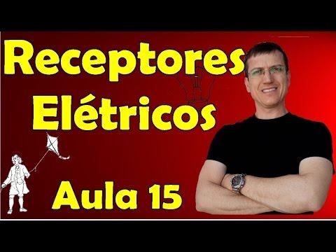 Receptores elétricos - Eletrodinâmica - Aula 15 - Prof. Marcelo Boaro