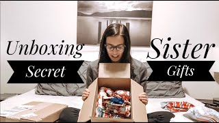 Unboxing Secret Sister Gifts | Tyler And Rachel |