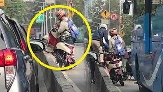 Videonya Dirinya Ditinggal usai Bantu Pengendara Motor Lain Viral, Begini Nasib Pria Ini Selanjutnya