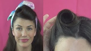 HOW TO Roll VICTORY ROLLS 6 DIFFERENT Ways - Fitfully Vintage