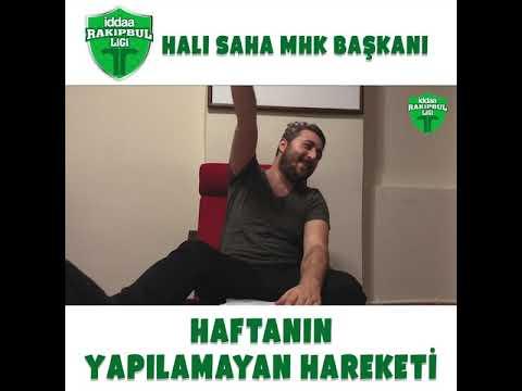 Halı sahaların MHK Başkanı Arif Sevimli ile haftanın yapılamayan hareketi sizlerle!