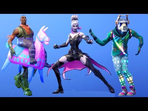 Fortnite All Dances Season 1-6 Mp3