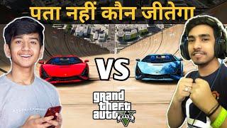 Techno gamerz car vs my car. Techno gamerz car. GTA V gameplay. game bhaari gta 5 || part 2