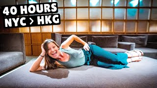 LIVING IN AIRPORT LOUNGES (eat, Drink, Sleep, And Shower)