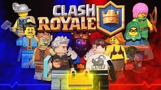 Lego Clash Royale Orange Juice's Yarn VS Nickatnyte