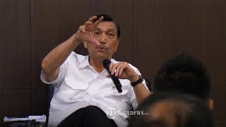 Pemerintah Sering Dikritik Asal-asalan, Luhut Binsar: Jangan Asal Kritik, Saya Tahu Track Record-mu